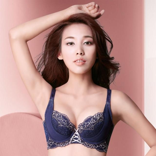 【摩奇X】美麗系列挺魔力Bra B-C罩杯內衣(艷麗藍)
