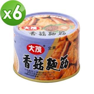 【大茂】香菇麵筋-鐵罐(170g*6)