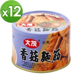 【大茂】香菇麵筋-鐵罐(170g*12)