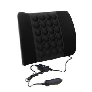 【YARK】磁性震動背部腰靠(汽車|椅墊|按摩)