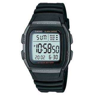 【CASIO】輕運動時代電子錶(W-96H-1B)