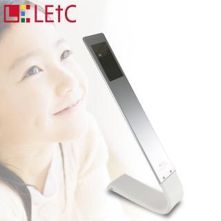 【LETC】無線觸控護眼LED檯燈(星光銀)