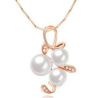 【米蘭精品】珍珠項鍊流行銀飾品(質感優雅珍珠母親節生日情人節禮物73v179)