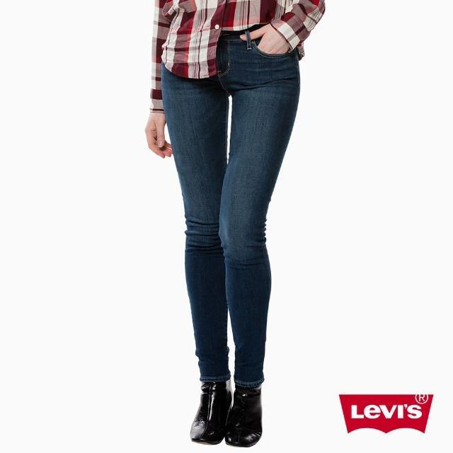 【Levis】牛仔褲 修身 / 711 中腰緊身窄管 / 中彈力布料