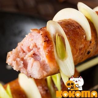 【極鮮配】5入飛魚卵香腸(300g±10%/包-4包)