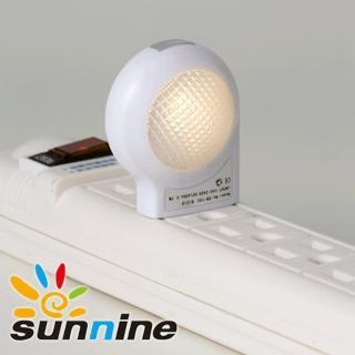 【旭創光電】LED光感應 蝸牛小夜燈 黃光 1入