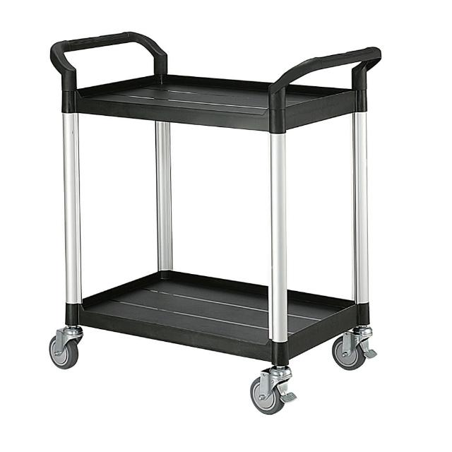 【100%台灣製】標準型多功能二層工具餐車/置物架/手推車