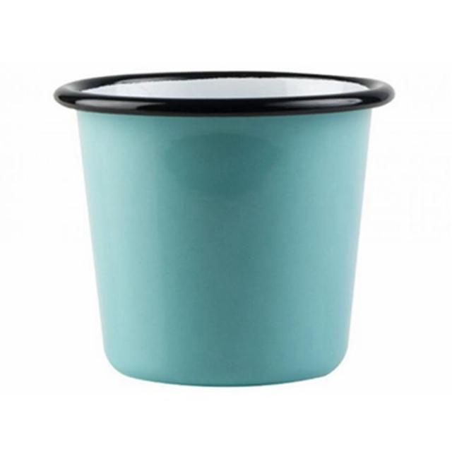 【芬蘭Muurla】土耳其藍琺瑯杯200cc-藍色(咖啡杯/琺瑯杯)