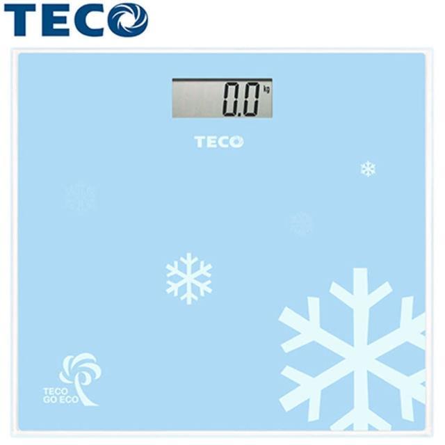 【東元TECO】歐風電子體重計(XYFWT681)