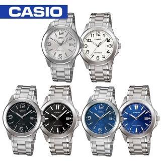 【CASIO 卡西歐】白領階級/上班族/紳士時尚石英男錶(MTP-1215A)