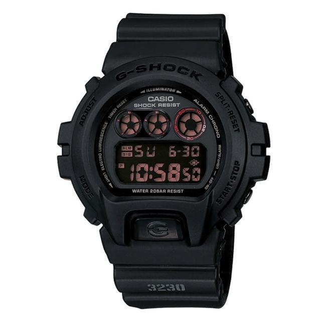 【CASIO】G-SHOCK特勤軍方運動錶(DW-6900MS-1)