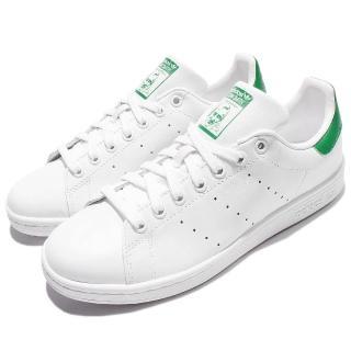 【adidas】休閒鞋 Stan Smith 復古 男鞋 女鞋 愛迪達 情侶鞋 基本款 推薦 男 女 白 綠(M20324)
