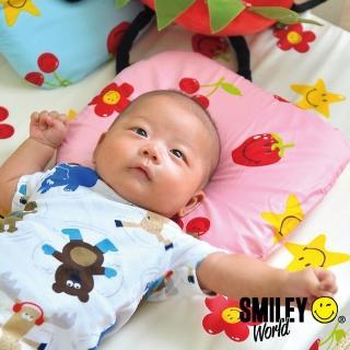 【SmielyWorld】《微笑寶貝》恆溫水冷凝膠嬰兒凹型枕(8款)