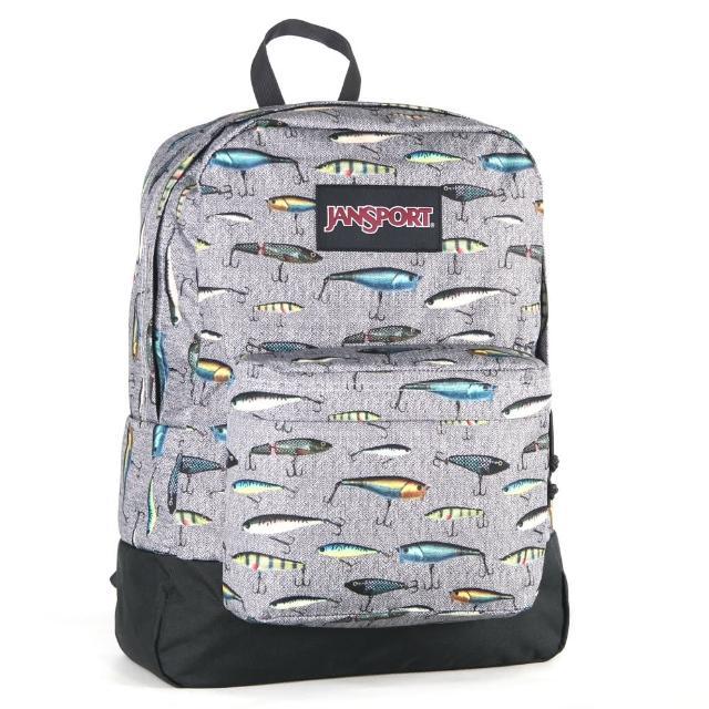 【JanSport】校園背包-BLACK LABEL SUPERBREAK(魚魚)