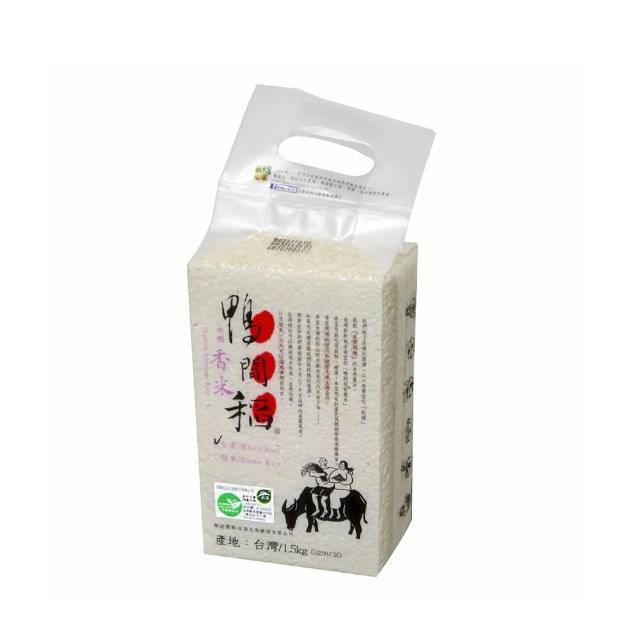 【禾掌屋】鴨間稻有機香米白米(1.5Kg/1入)
