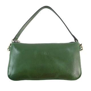【Sika】義大利真皮風潮迷你肩背包-背帶可拆換(A8229-08深墨綠)