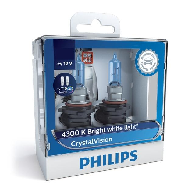 【PHILIPS飛利浦】車燈 水晶之光CrystalVision(公司貨)