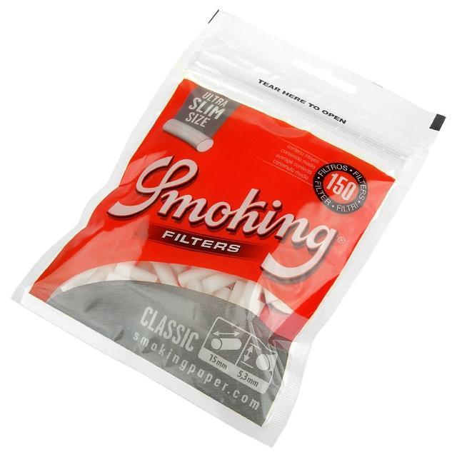 【Smoking】西班牙進口-捲煙專用濾嘴-Ultra Slim超細5.3mm*2包