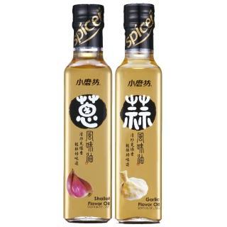 【小磨坊】蔥風味油+蒜風味油