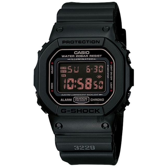【CASIO】卡西歐 G-SHOCK 軍事經典腕錶(DW-5600MS-1HDR)