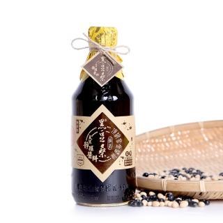黑豆桑 天然極品頂級黑金醬油 6瓶