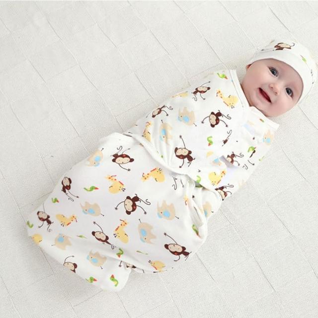 可調式簡易嬰兒包巾 懶人包巾