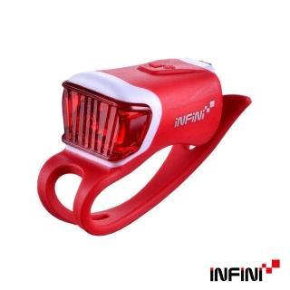 【INFINI】ORCA I-204R 鯨魚USB充電式紅光警示燈(紅)