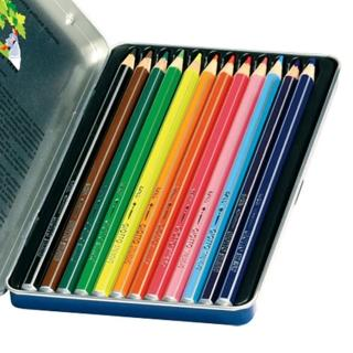 【義大利GIOTTO】STILNOVO 水溶性彩色鉛筆(12色鐵盒)