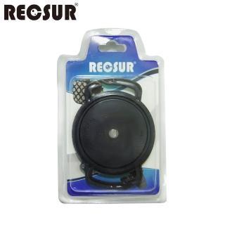 【RECSUR】銳攝 鏡頭蓋防丟扣 For 72/77/82mm(可安裝於背帶上面)