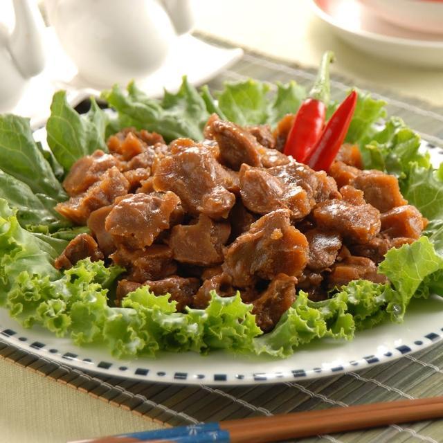 【鮮食家任選799】鬍鬚林滷味 香脆雞胗凍(200g±5%/盒)