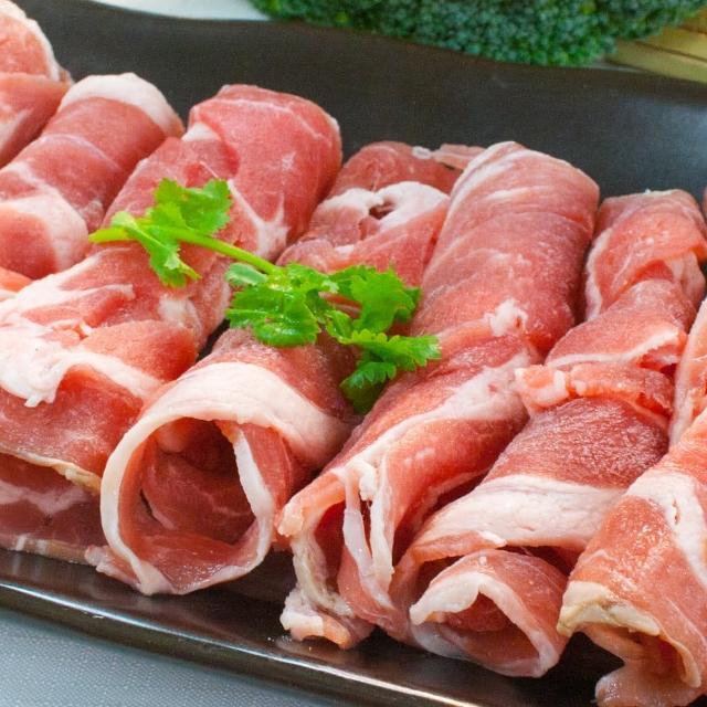 【鮮食家任選799】輝帛肉品 紐西蘭雪花羊火鍋肉片(200g±10%/盒)