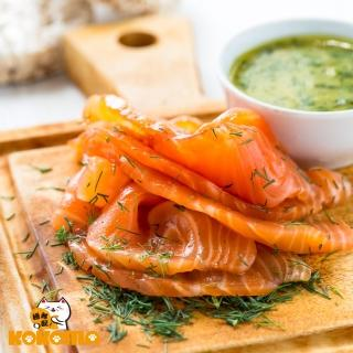 【極鮮配】北歐煙燻鮭魚(200g±10%/包-4包)