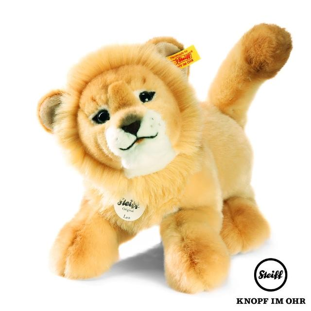 【STEIFF德國金耳釦泰迪熊】Leo Baby Dangling Lion 獅子(動物王國)