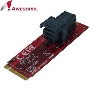 ~Awesome~M.2轉MiniSAS HD36P NVMe轉接模組 AWD~DT~13