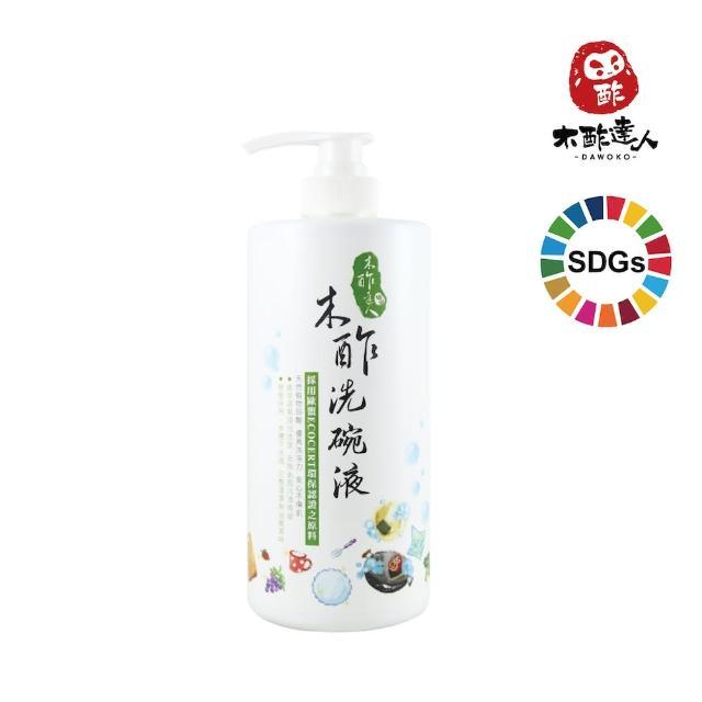 【木酢達人】天然木酢洗碗精補充罐(1000ml)/