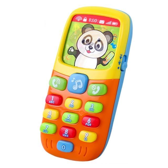 【HUILE】寶寶聲光音樂學習手機