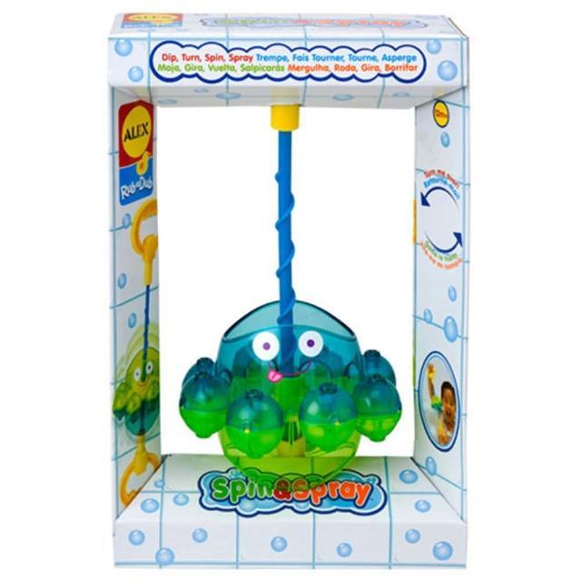 【美國ALEX】旋轉噴水章魚