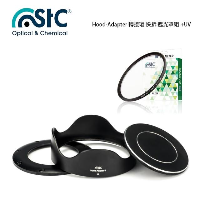 【STC】Hood-Adapter 轉接環 快拆 遮光罩組+UV 保護鏡(For SONY RX100系列)