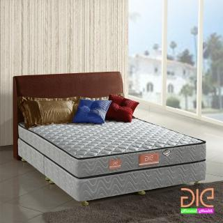 【aie享愛名床】竹碳+3M防潑水+記憶膠二線獨立筒床墊-雙人5尺(經濟型)