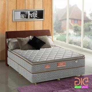 【aie享愛名床】竹碳+3M防潑水+乳膠真三線獨立筒床墊-雙人5尺(經濟型)