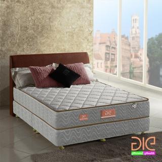 【aie享愛名床】竹碳 3M防潑水 乳膠二線獨立筒床墊-雙人5尺 經濟型