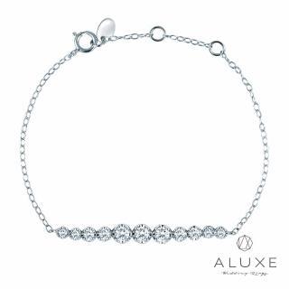 【A-LUXE 亞立詩】18K金 0.57克拉鑽石手鍊