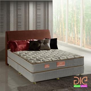 ~aie享愛名床~竹碳 涼感紗 乳膠二線獨立筒床墊~雙人5尺 實惠型