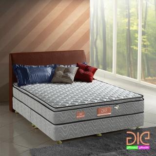 ~aie享愛名床~竹碳 3M防潑水 記憶膠真三線獨立筒床墊~雙人加大6尺 經濟型