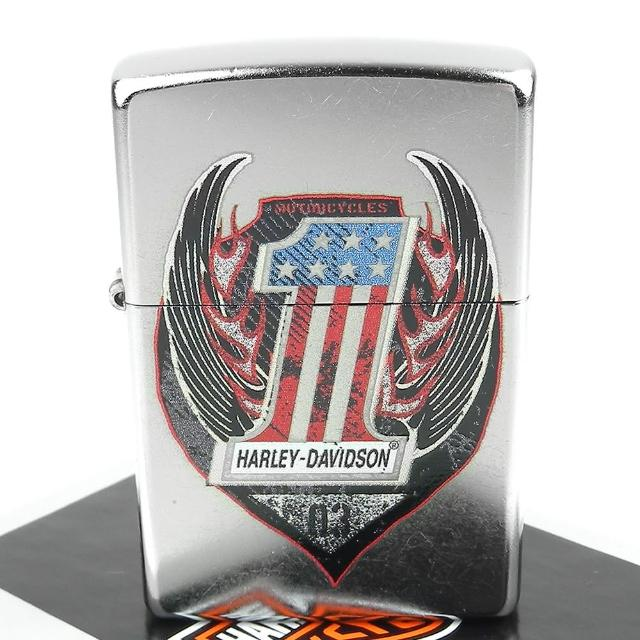 【ZIPPO】美系-哈雷-Harley-Davidson-One圖案設計打火機