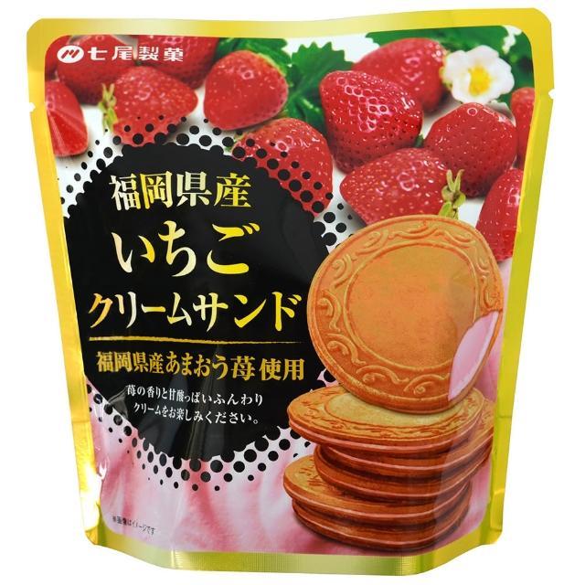 【七尾】福岡草莓法蘭酥68g