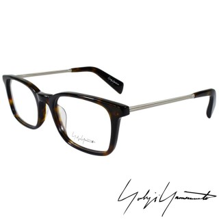 ~Yohji Yamamoto 山本耀司~ 方框金屬混搭 光學眼鏡^(琥珀 YY1007~