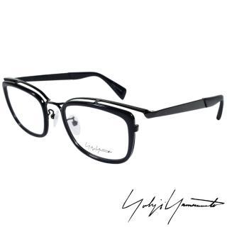 ~Yohji Yamamoto 山本耀司~山本耀司 立體方框 光學眼鏡 深藍 YY1019