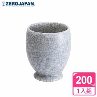【ZERO JAPAN】冰裂之星杯200cc(白瓷)