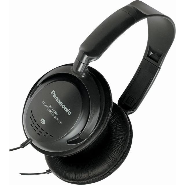 【Panasonic】可調音頭戴式耳機(RP-HT225)